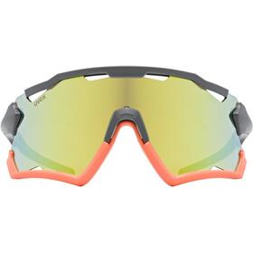 UVEX Sportstyle 228 Glasses, gris/naranja